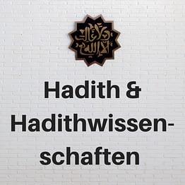 Hadith/Hadithwissenschaften